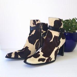 Donald J Pliner cowhide boots